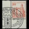 533 Burgen u.Schl. 20 Pf Ecke ul ESST Berlin