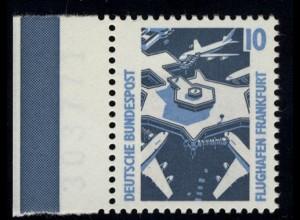 1347 SWK 10 Pf Seitenrand li. ** postfrisch