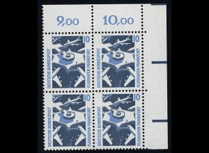 1347 SWK 10 Pf Eck-Vbl. or ** postfrisch