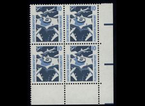 1347 SWK 10 Pf Eck-Vbl. ur ** postfrisch
