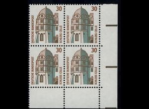 1339 SWK 30 Pf Eck-Vbl. ur ** postfrisch