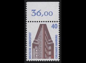 1379 SWK 40 Pf Oberrand ** postfrisch