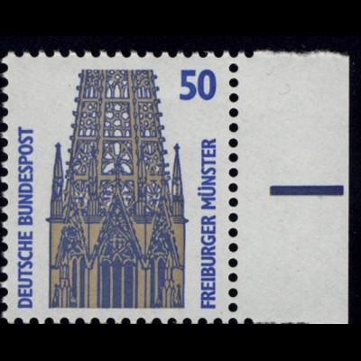 1340 SWK 50 Pf Seitenrand re. ** postfrisch