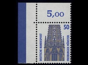 1340 SWK 50 Pf Ecke ol ** postfrisch
