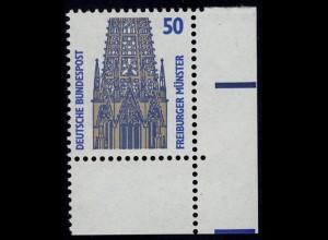 1340 SWK 50 Pf Ecke ur ** postfrisch