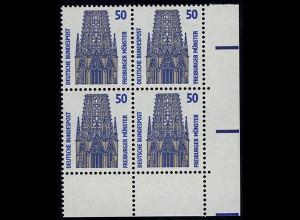 1340 SWK 50 Pf Eck-Vbl. ur ** postfrisch