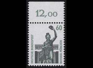 1341 SWK 60 Pf Oberrand ** postfrisch