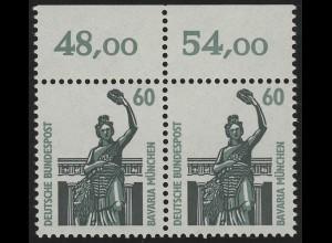 1341 SWK 60 Pf Paar OR ** postfrisch
