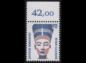 1374 SWK 70 Pf Oberrand ** postfrisch