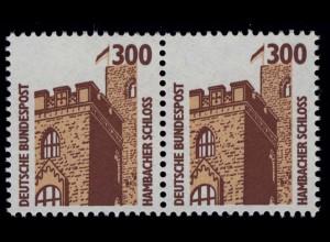 1348 SWK 300 Pf waag. Paar ** postfrisch