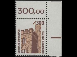 1348 SWK 300 Pf Ecke or ** postfrisch