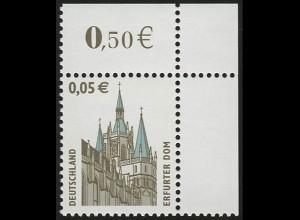2381 SWK 0,05 Euro Ecke or ** postfrisch