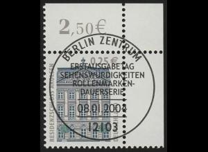 2374 SWK 0,25 € Ecke or ESST Berlin