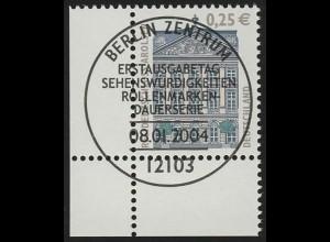 2374 SWK 0,25 € Ecke ul ESST Berlin