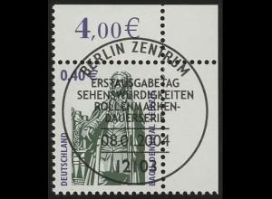 2375 SWK 0,40 Euro Ecke or ESST Berlin