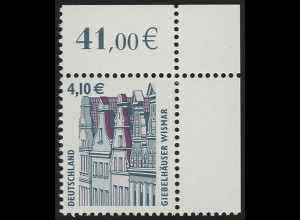 2323 SWK 4,10 Euro Ecke or ** postfrisch