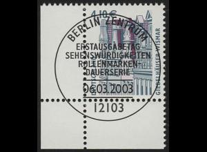 2323 SWK 4,10 Euro Ecke ul ESST Berlin