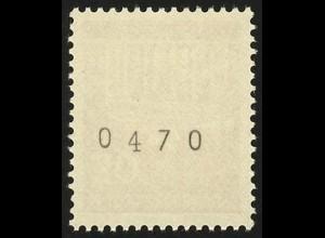 508v Brandenb. Tor v 30 Pf Dextrin 1000er-Rolle, Einzelmarke + Nr. **