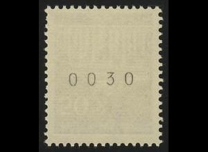 509v Brandenb. Tor v 50 Pf Dextrin, Einzelmarke + Nr. **