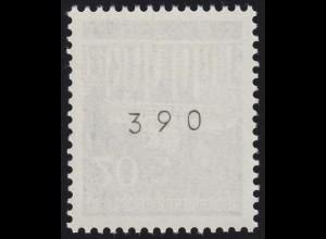 507w Brandenb. Tor w 20 Pf Planatol 400er-Rolle, Einzelmarke + Nr. **