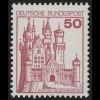 916 BuS alte Fluo 50 Pf, Einzelmarke + Nr. **