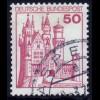 916 BuS alte Fluo 50 Pf, Einzelmarke + Nr. O