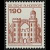 919 BuS alte Fluo 190 Pf, Einzelmarke + Nr. **