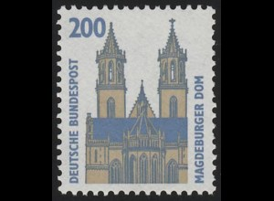 1665I SWK ALTE Nr. 200 Pf, Einzelmarke + Nr. **
