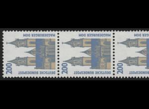 1665I SWK ALTE Nr. 200 Pf, 5er-Streifen + Nr. ** postfrisch