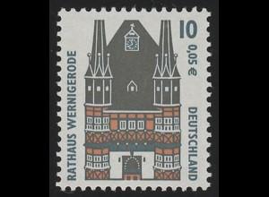 2139 SWK 10/5 Nr. mit Punkt, Einzelmarke + Nr. **
