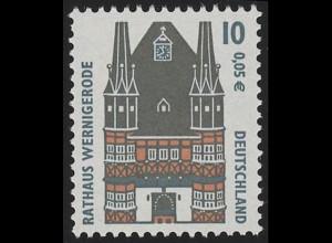 2139 SWK 10/5 Nr. ohne Punkt, Einzelmarke + Nr. **