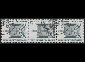 2176 SWK 47/24 200er-Rolle, 3er-Streifen + Nr. O