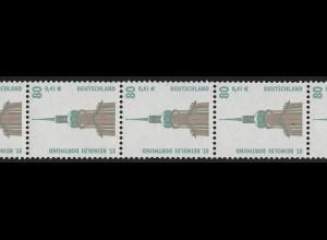 2177 SWK 80/41 2000er-Rolle mit Punkt, 11er-Streifen **