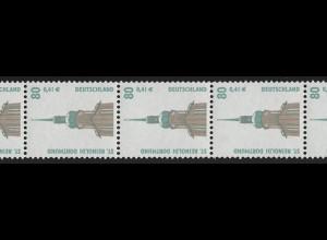 2177 SWK 80/41 2000er-Rolle ohne P., 11er-Streifen **
