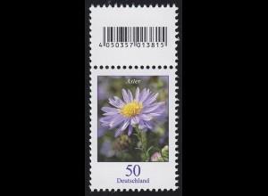 2463 Blumen 50 Cent aus 200er-Rolle, mit Codierfeld **