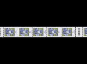 3315 Blume 20 Cent aus 200er-Rolle, RA 11 mit 200-195-190 (2 Codierfelder) **