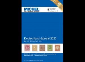 MICHEL Deutschland Spezial 2020 Band 1 (bis April 1945)