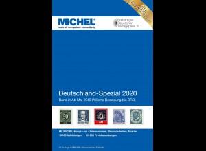 MICHEL Deutschland Spezial 2020 Band 2 (ab Mai 1945)