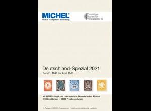 MICHEL Deutschland Spezial 2021 Band 1 (bis April 1945)