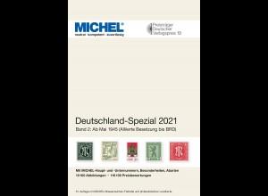 MICHEL Deutschland Spezial 2021 Band 2 (ab Mai 1945)