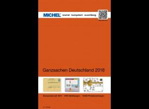 MICHEL-Katalog Ganzsachen Deutschland 2018