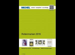 MICHEL Handbuch-Katalog Rollenmarken Deutschland 2019