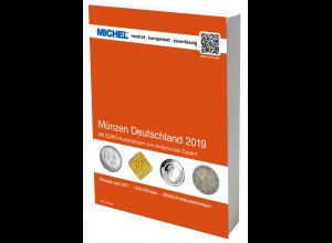 MICHEL Münzen-Katalog Deutschland 2019