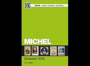 MICHEL ÜK 8/1 Südasien (Indien) 2016