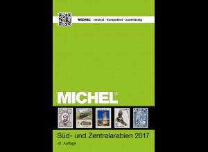 MICHEL ÜK 10/2 Süd- und Zentralarabien 2017 in Farbe