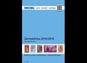 MICHEL ÜK 6/1 Zentralafrika 2018/19