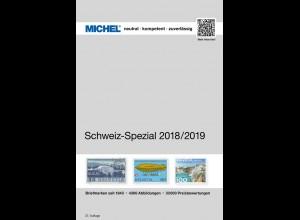 MICHEL Schweiz-Spezial-Katalog in Farbe mit Ganzsachen 2018/2019