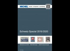MICHEL Schweiz-Spezial-Katalog in Farbe mit Ganzsachen 2019/2020