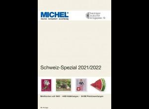 MICHEL Schweiz-Spezial-Katalog in Farbe mit Ganzsachen 2021/2022