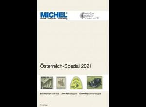MICHEL Österreich-Spezial-Katalog mit Ganzsachen 2021 in Farbe